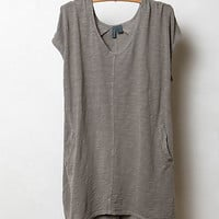 Seamed High-Low Tee