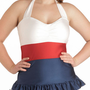 Pelagic Gal Two Piece in Plus Size | Mod Retro Vintage Bathing Suits | ModCloth.com