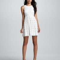 Rocco Open-Back Lace Dress