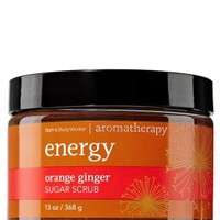 Energy - Orange Ginger Sugar Scrub   - Aromatherapy - Bath & Body Works
