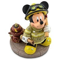 Fireman Mickey Mouse Figure -- 9 1/2'' H | Disney Store