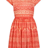 Petites Aztec Jersey Dress - View All  - Dress Shop