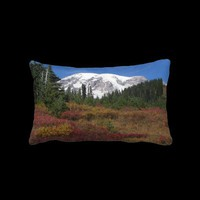 Rainier Autumn Lumbar Pillow from Zazzle.com