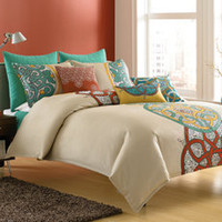 Dream by Blissliving Home Mandala Duvet Cover, 100% Cotton - Bed Bath &amp; Beyond