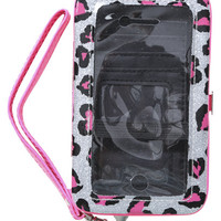 Leopard Hearts Phone Wallet | Shop Just Arrived at Wet Seal