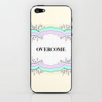 Overcome iPhone &amp; iPod Skin by gabi press