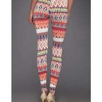 Type Z Katherine Tribal Print Legging Orange - Zappos.com Free Shipping BOTH Ways