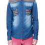 DENIM SHIRT WITH ETHNIC PATTERN YOKE - Casual - Shirts - Man - ZARA United States