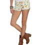 Floral Crochet Frayed Shorts | Shop Shorts at Wet Seal