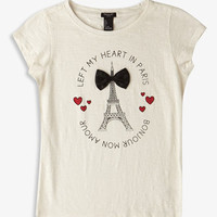 Left My Heart In Paris Tee