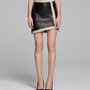 HELMUT LANG EVOLUTION LEATHER SKIRT