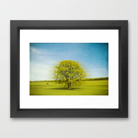 eternal spin Framed Art Print by Dirk Wuestenhagen Imagery