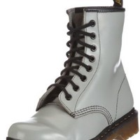 Amazon.com: Dr. Martens Women&#x27;s The Broken 1460 Boot 6 Gray: Shoes