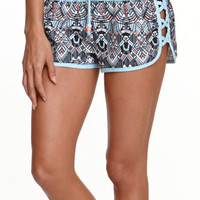 LA Hearts Side Lattice Jogger Boardshorts at PacSun.com