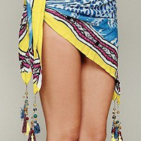 Sarong Tassel Scarf at Free People Clothing Boutique