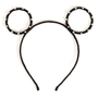 Pastel Color Round Mouse Ear Headband Aliceband Decorated With Rhinestones | Danischoice.com