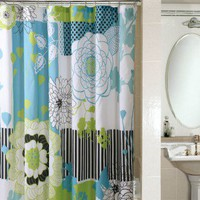 PEM America Microfiber Shower Curtain in Loris - SC7674-6201 - Shower Curtains - Shower Curtains & Accessories - Bed & Bath