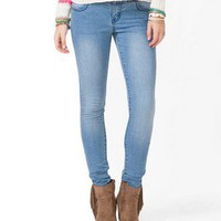 Four Pocket Skinny Jeans