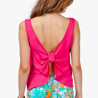 Knot Back Tank