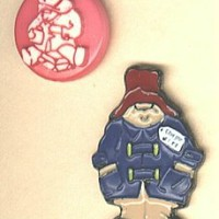 Paddington Bear  BUTTONS