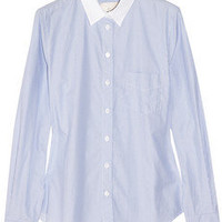 Band of Outsiders | Striped cotton shirt | NET-A-PORTER.COM