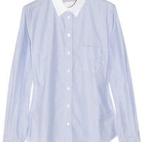 Band of Outsiders|Striped cotton shirt|NET-A-PORTER.COM
