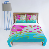 DENY Designs Home Accessories | Paula Ogier Lotus Pond Duvet Cover