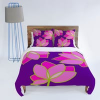 DENY Designs Home Accessories | Paula Ogier Lotus Breeze Duvet Cover