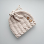 Baby Hat. Bamboo newborn hat. knitted baby hat, newborn gift, Puerperium hat. natural antibacterial. eco friendly.