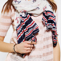 Urban Outfitters - Anchors Aweigh Oversized Scarf