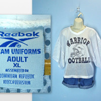 Vintage Football Jersey / Reebok Mesh Warrior / xl