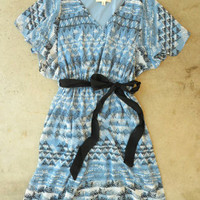 Fluttering Ibis Dress [3378] - $48.00 : Vintage Inspired Clothing & Affordable Summer Frocks, deloom | Modern. Vintage. Crafted.