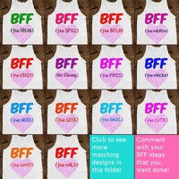 BFF Matching Tanks Collection