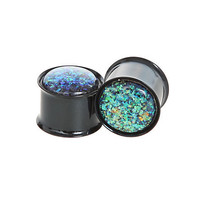 Morbid Metals Blue Opal Plug 2 Pack | Hot Topic