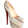 Christian Louboutin Snakeskine Daffodile at Barneys.com