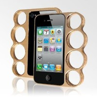 LolliMobile Knuckle Case for iPhone4/4S - Gold/Copper:Amazon:Cell Phones &amp; Accessories
