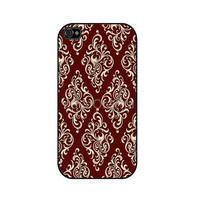 Damask iPhone 4 iPhone 4 case iPhone 4S case iPhone by caseOrama