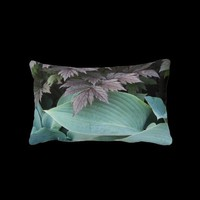 Garden Foliage Lumbar Pillow from Zazzle.com