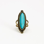 High Desert Turquoise Ring