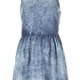 MOTO Acid Denim Flippy Dress - The Road to Coachella  - New In