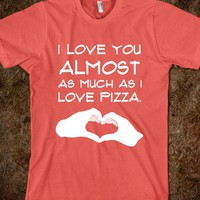 Pizza - The Average Unsocial American - Skreened T-shirts, Organic Shirts, Hoodies, Kids Tees, Baby One-Pieces and Tote Bags