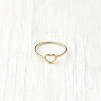 Free People Got Heart Ring