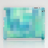 Re-Created Colored Squares No. 17 iPad Case by Robert Lee