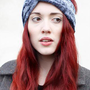 Velvet Turban Headband in Gunmetal grey from Mod dolly