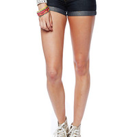 Papaya Clothing Online :: CUFFED DENIM SHORTS