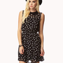 Floral Chiffon Dress w/ Belt