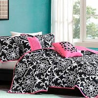 Colormate- -Petra Comforter Set-Bed &amp; Bath-Decorative Bedding-Comforters &amp; Sets