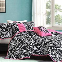 Colormate- -Petra Comforter Set-Bed & Bath-Decorative Bedding-Comforters & Sets