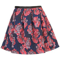 Premium Floral Full Skirt - Skirts  - Clothing