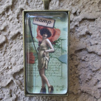 Tramp Another Mature Girlie Pendant Necklace